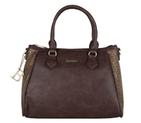 BULAGGI  Dark Brown Shopping Bag
